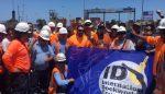 Trabajadores del Puerto de Iquique paralizan sus actividades en apoyo a movilización de eventuales de Valparaíso