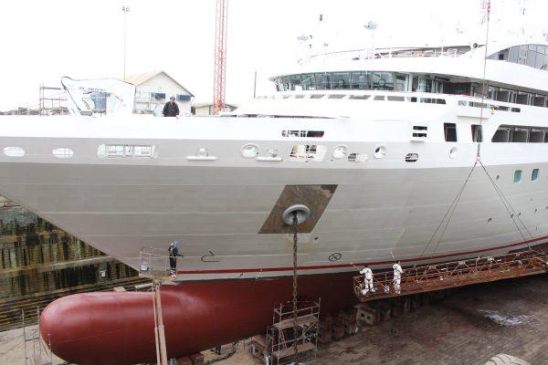 Crucero Le Soleal embarcará pasajeros en Talcahuano para retomar su ruta a Ushuaia