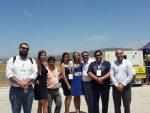 Trabajadores portuarios de San Antonio visitan stand de EPSA en Expo Naval 2018