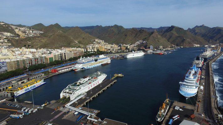 Santa Cruz de Tenerife atenderá 116.400 pasajeros de cruceros en enero de 2019