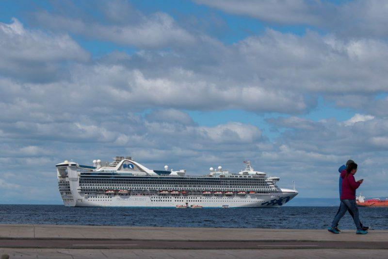 Star Princess visita por primera vez Punta Arenas