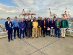 Misión chilena viaja a Japón para estudiar procesos logísticos portuarios
