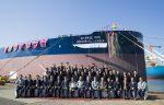 HMM bautiza al primero de cinco nuevos buques VLCC ordenados a DSME