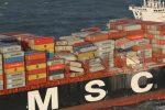 MSC costeará todos los gastos de limpieza por pérdida de contenedores de su buque en el Mar del Norte