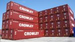 Crowley recibe 1.500 nuevos contenedores para su flota global