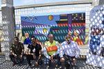 Academia de Arte de Mejillones patrocinada por Ultraport finaliza instalación de mural en Puerto Angamos
