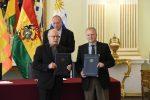 Firman acuerdo para movilizar carga boliviana por puertos de Montevideo y Nueva Palmira