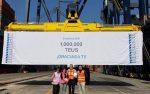 México: Hutchison Ports Icave alcanza 1 millón de TEUs en 2018