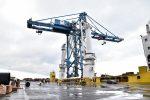 Puerto de Bilbao embarca grúa STS de 1.280 toneladas con rumbo a las Antillas