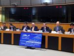 Valenciaport presenta su Plan de Innovación portuaria en el Parlamento Europeo
