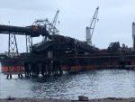 Puerto Guacolda 2 se mantendría fuera de operaciones por 8 meses debido a incidente con desplome de pluma de embarque