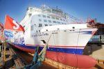 Stena Line realiza botadura de su primer barco de última generación