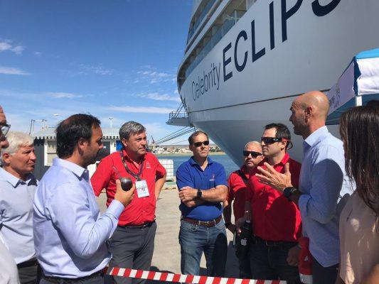 Argentina: Puerto Madryn recibe al Celebrity Eclipse