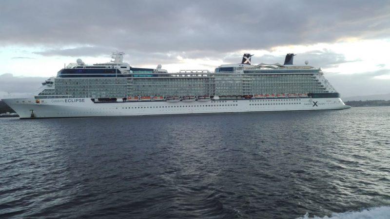 Celebrity Eclipse regresa a Puerto Montt en menos de una semana