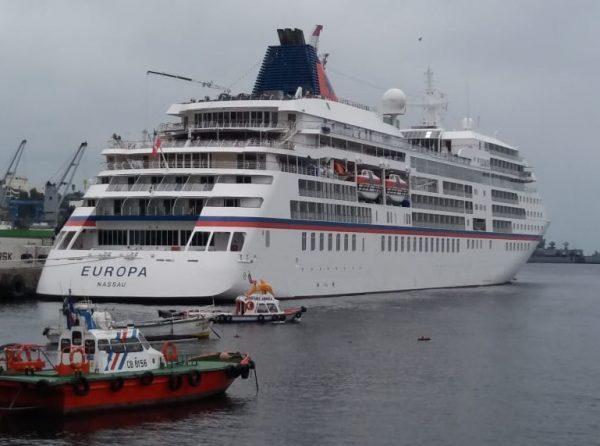 Puerto de Valparaíso retoma las atenciones de cruceros durante la temporada