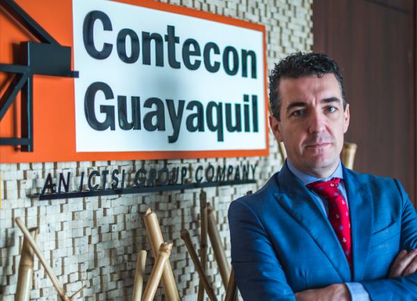 """José Antonio Contreras: """"Con el dragado se logrará que los grandes buques puedan acceder a Guayaquil"""""""