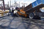 Argentina: Mejoran carpeta asfáltica en sitios 9 y 10 de Puerto Quequén