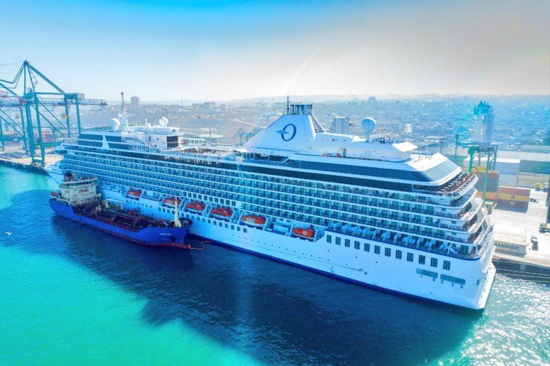 Puerto Central atiende al primer crucero del año