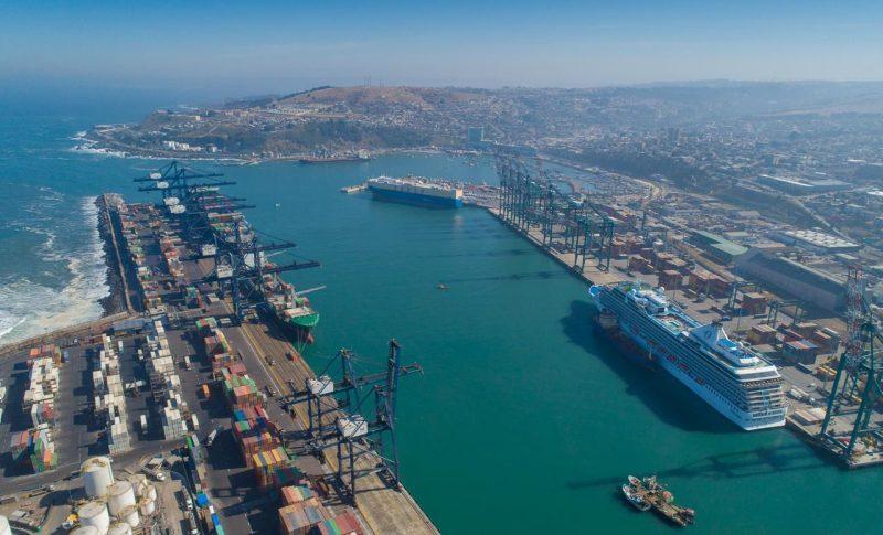 Cuatro puertos chilenos atenderán en paralelo escalas de cruceros por segunda vez en la temporada