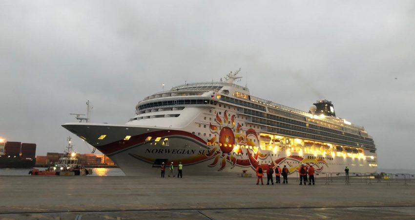 norwegian sun puerto central