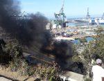 Protestas de pescadores afectan a concesionario Puerto Panul de San Antonio