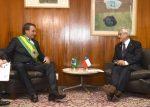 Sebastián Piñera y Jair Bolsonaro acuerdan construir Corredor Bioceánico entre Chile y Brasil