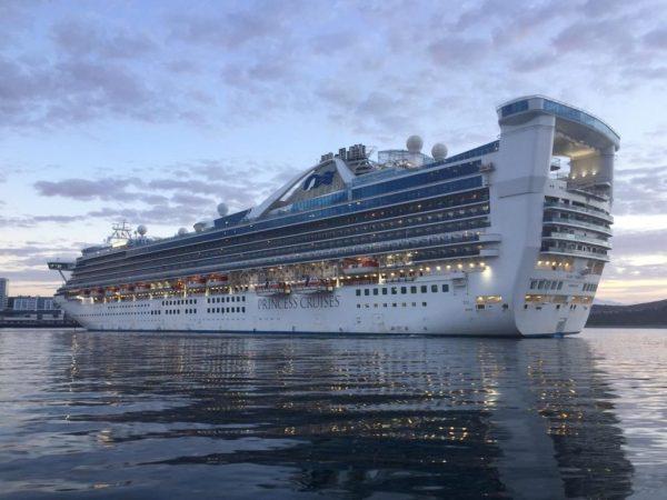 Star Princess marca su segunda escala de la temporada en Puerto Montt