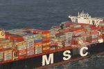 Inician investigación para determinar responsabilidades en la pérdida de los contenedores del MSC Zoe
