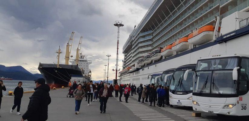 Argentina: Puerto de Ushuaia acumula más de 60 mil visitantes atendidos durante la temporada 2018/2019
