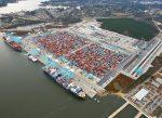Estados Unidos: Finaliza ampliación del patio de contenedores N° 1 del Puerto de Virginia