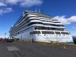 Crucero Seven Seas Explorer atraca por primera vez al Muelle Prat de Punta Arenas