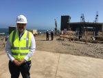 Aldo Signorelli presenta avances de nuevo edificio corporativo de Puerto San Antonio