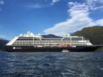 Puerto Chacabuco recibe por segunda vez al Azamara Pursuit