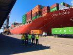 Costa Rica: Puerto Caldera atiende a la mayor nave de su historia