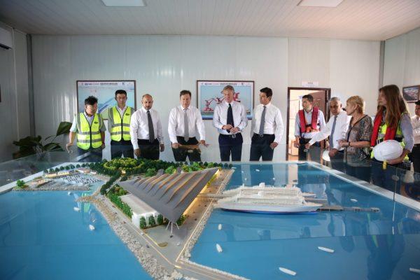Panamá presenta futuro muelle de cruceros de Amador a MSC Cruceros