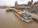Argentina aplicará tarifa 100% bonificada en los buques que ofrecen servicios entre los puertos de Buenos Aires, Bolivia y Paraguay