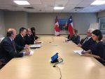 Chile y Canadá revisan modernizacion de Tratado de Libre Comercio