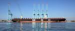 Galería: Puerto de Lázaro Cárdenas recibe por primera vez a un buque de 399 metros de eslora