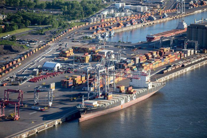 Canadá invertirá $37 millones para mejorar eficiencia de transporte terrestre en Puerto de Montreal