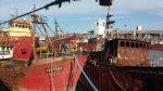 Argentina: Puerto de Mar del Plata recupera 120 metros de frente de atraque con desguace de buques inactivos