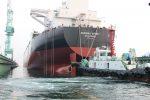 Samsung Heavy Industries realiza botadura de buque tanque especializado en transbordos