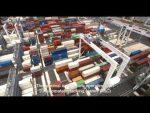 [Video] Así opera el primer terminal de contenedores completamente automatizado en el mundo
