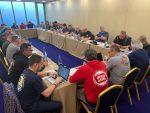 Portuarios ligados a la IDC concretan reunión en Portugal para definir acciones futuras