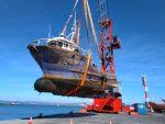 Talcahuano Terminal Portuario suma servicio de varadero para naves menores