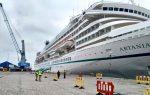 Terminal Puerto Coquimbo recibe al crucero Artania