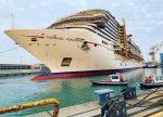 Nuevo mega crucero de Carnival recalará sin pasajeros al Puerto de Valparaíso tras salir del astillero Fincantieri Marghera