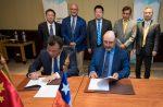Puertos de San Antonio y Xiamen  firman acuerdo de entendimiento por desarrollo comercial