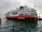 MS Fram sigue su paso por Chile con parada en Terminal Puerto Coquimbo