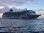 Norwegian Sun ejecuta parada en Puerto Montt