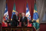 Piñera y Bolsonaro reafirman compromiso para impulsar Corredor Bioceánico